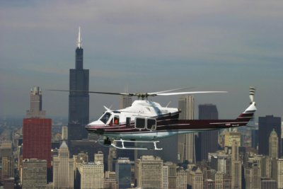 The Bell 412EP aircraft