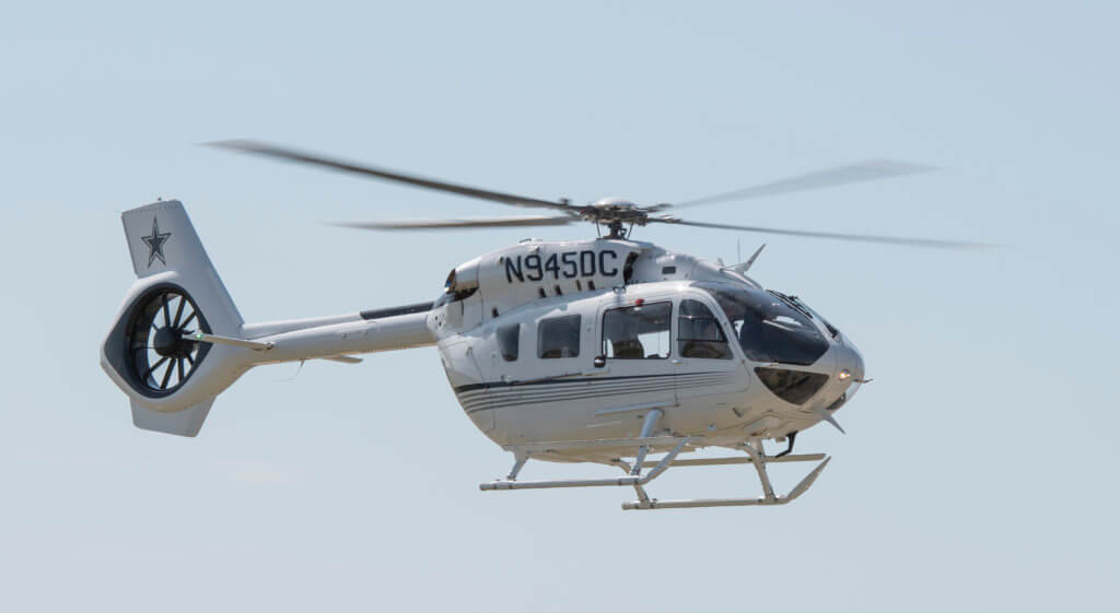 Jerry Jones buys Dallas Cowboy-themed helicopter