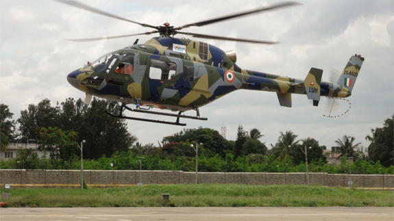 Technical flight of indigenous Light Utility Helicopter successful